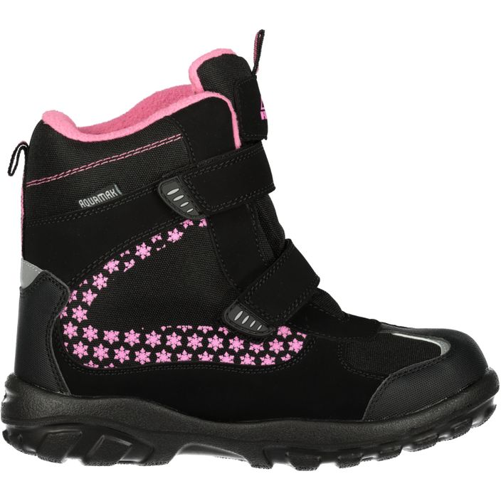 McKINLEY Snowtime Mädchen Winterstiefel Black/pink light