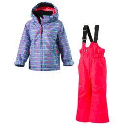 McKinley Mädchen Schneeanzug Timber + Ray Turquoise/AOP/Pink