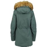 CNSRD Flora Damen Winter Kurzmantel smoke – Bild 2