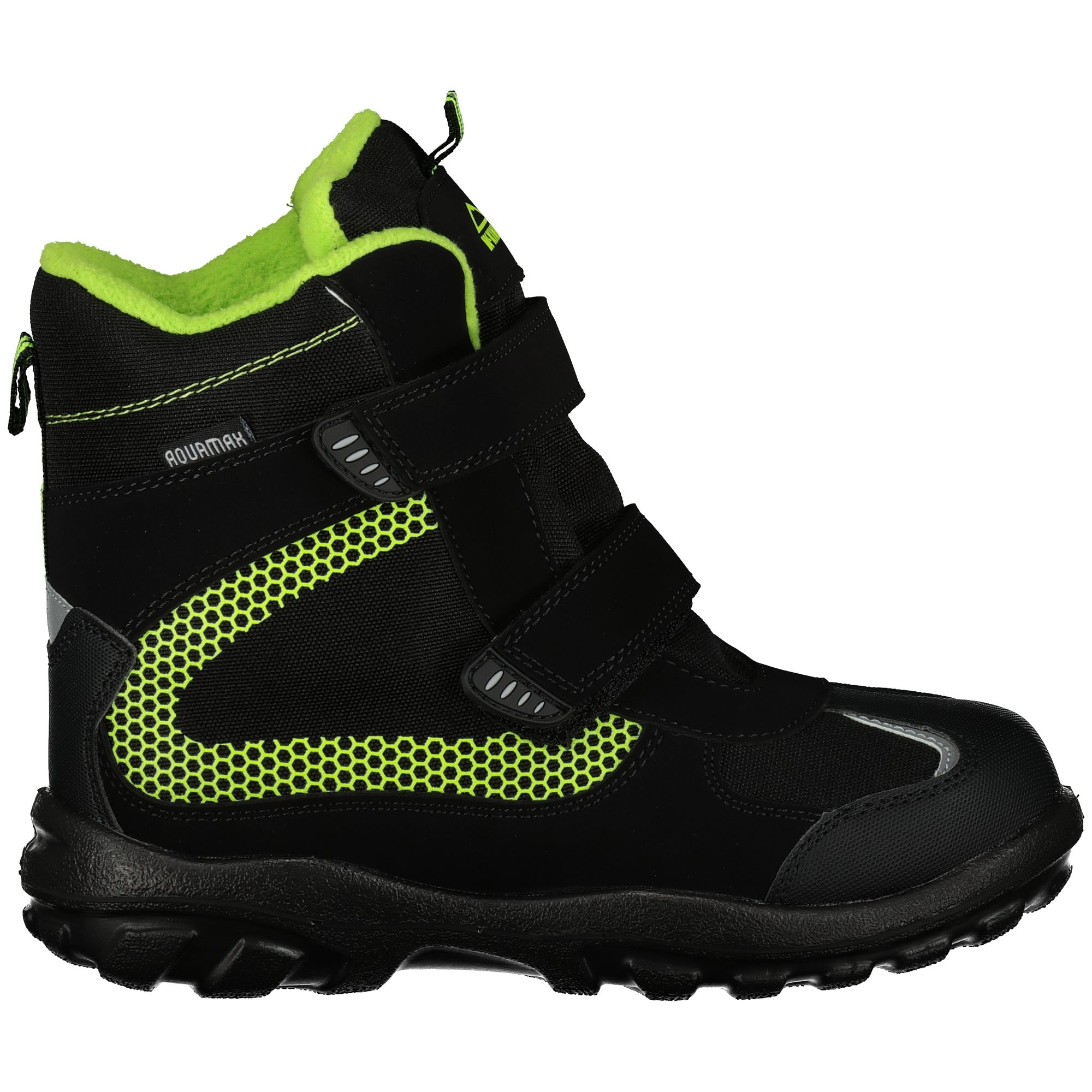 on sale 73840 10db0 McKinley Snowtime AQX ISE Winterstiefel Jungen Black Green Kids Schuhe  Stiefel