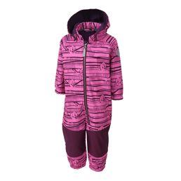 Color Kids Mädchen Softshellanzug Kajo Phlox Pink