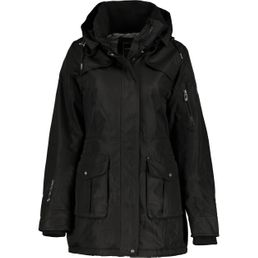 First B Damen Winterjacke Gwen schwarz