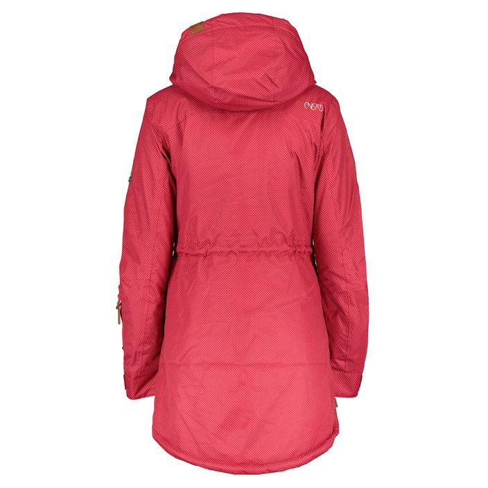 CNSRD Charlotte A Coat Damen Winter Kurzmantel fuchsia dots