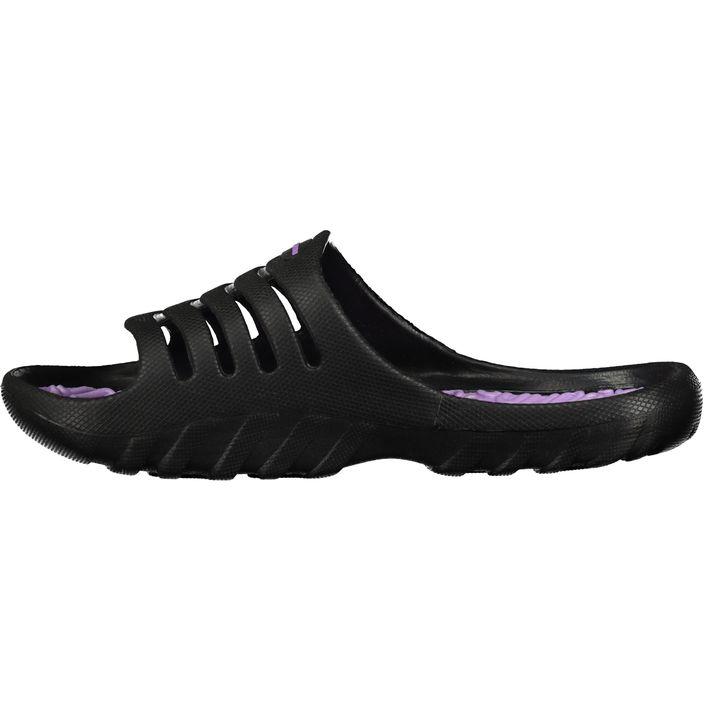 Tecno Pro Kinder Badesandale Pamplona Black/Purple