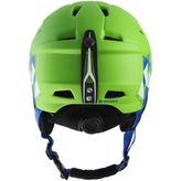 Tecno Pro Jungen Skihelm Pulse JR Green/Black/Blue – Bild 2