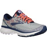 Brooks Ghost 11 Laufschuhe Damen Grey/Blue/Coral – Bild 2