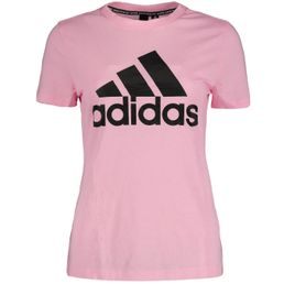 adidas Performance W MH BOS TEE Damen Funktionsshirt pink T-Shirt
