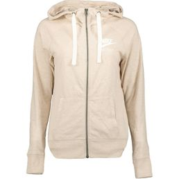 Nike NSW Gym VNTG Damen Sweatjacke oatmeal/sail