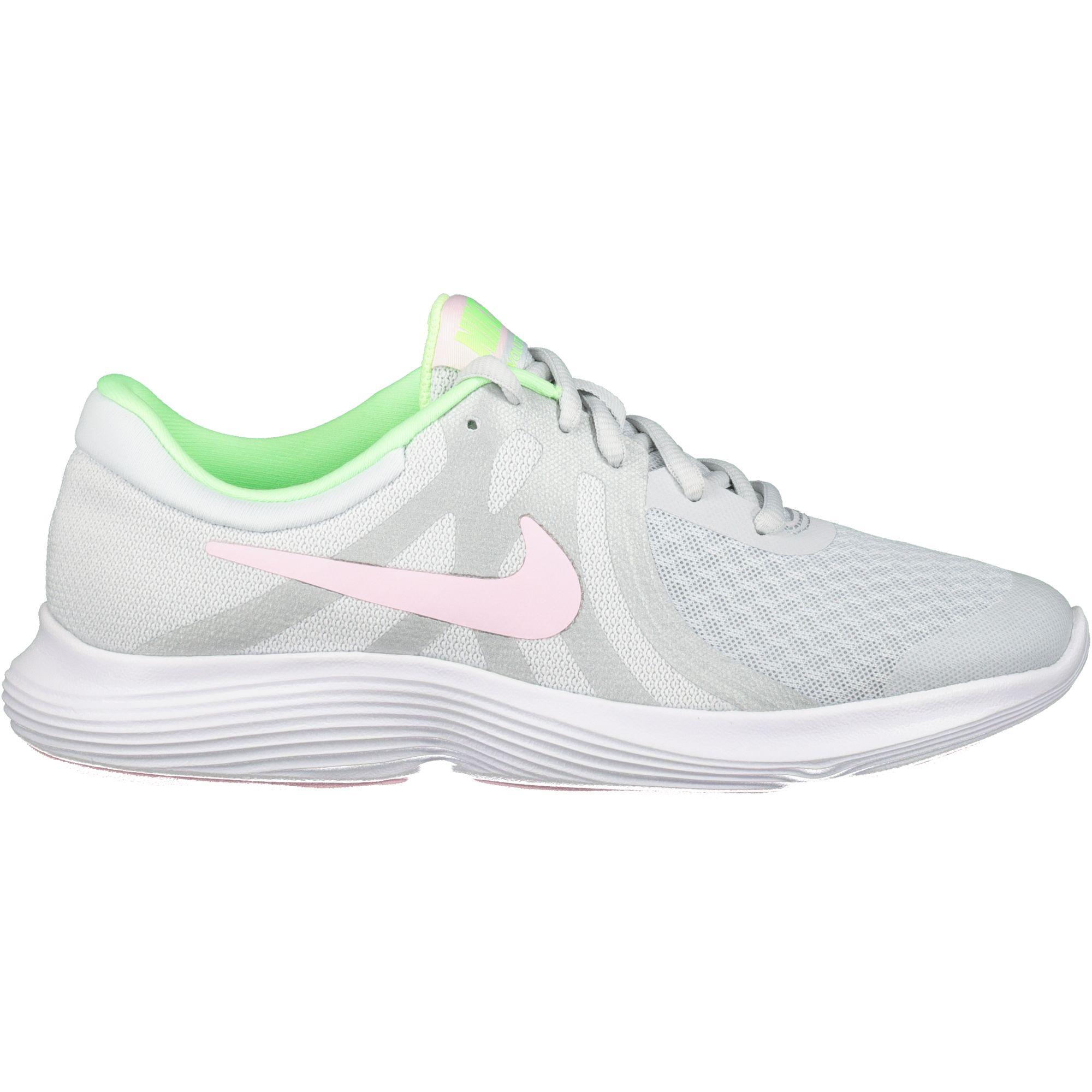 Nike Revolution 4 (GS) Mädchen Freizeitschuhe pure platinum/pink foam Kids  Schuhe Freizeitschuhe