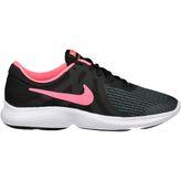 Nike Revolution 4 (GS) Mädchen Freizeitschuhe black/racer pink-white – Bild 1
