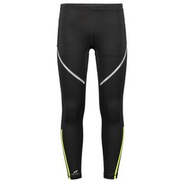 Pro Touch Herren Lauftights lang Striker ux black/yellow light