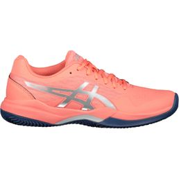 Asics Gel Game 7 Tennisschuhe Damen Clay/OC Papaya