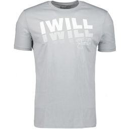 Under Armour Freizeit T-Shirt Herren I WILL 2.0 SS mod gray/onyx white