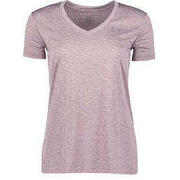 Under Armour Fitnessshirt Trainingsshirt Damen TECH SSV TWIST purple prime/metallic silver