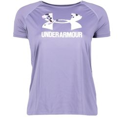 Under Armour Sportshirt T-Shirt Mädchen BIG LOGO TEE SOLID SS purple