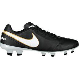 Nike Tiempo Genio II Leather FG Fußballschuhe Herren Schwarz
