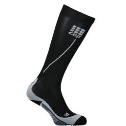 CEP Pro + Run Socks 2.0 Damen Laufsocken Kompressionsstrümpfe black/grey