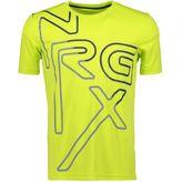 Energetics Joshua Jrs Funktionsshirt kurzarm Jungen Sportshirt green lime – Bild 1