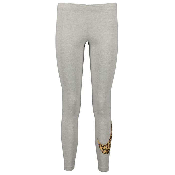 Nike Leggins Damen Tight W NSW LGGNG ANML grey