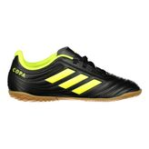 adidas Performance Fussballschuhe Indoor Kinder COPA 19.4 IN J black/yellow – Bild 1