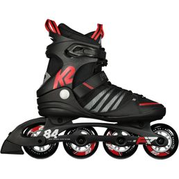 K2 F.I.T. 84 Speed Alu Herren Inline Skates Inliner black/red