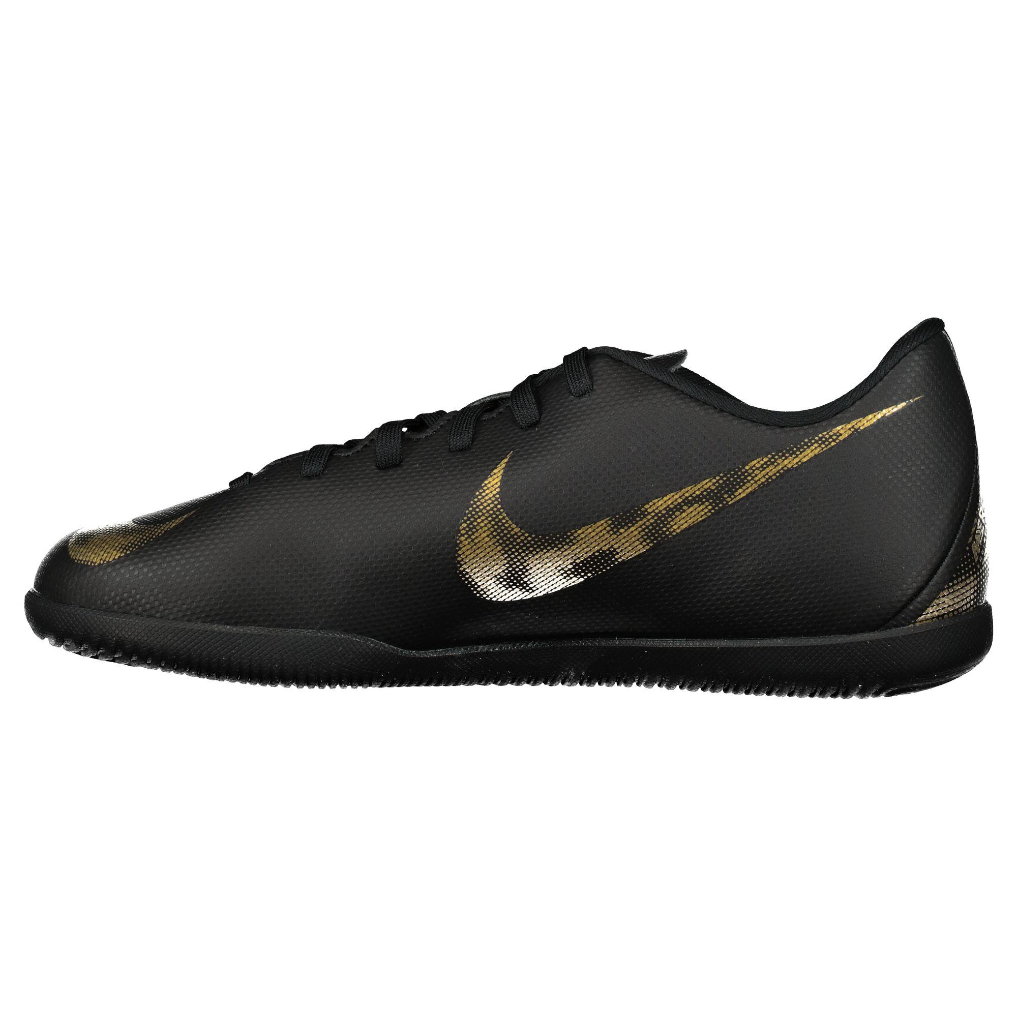 Nike Fussballschuhe Halle Ic Kinder Jr Vapor 12 Club Gs Ic Black Vivid Gold