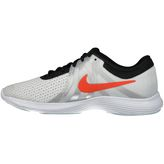 Nike Laufschuhe Kinder REVOLUTION 4 SD (GS) pure platinum/team orange  – Bild 2