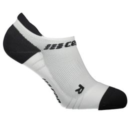 CEP no show socks 3.0 Laufsocken Kompressionssocken Damen white/dark grey