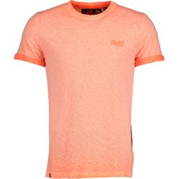 Superdry Low Roller Tee Freizeit T-Shirt Herren Hyper Pop