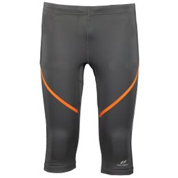 ProTouch Striki ux Laufhose Herren 3/4 Länge black night/orange dark