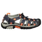 McKinley Vapor II Junior Kinder Trekkingsandale navy dark/grey/red – Bild 1