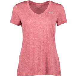 Under Armour Tech SSV Twist Fitnessshirt kurzarm Damen impulse pink