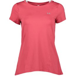 Under Armour UA HG ARMOUR SS Fitnessshirt kurzarm Damen impulse pink /metallic