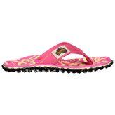 Gumbies Beach Zehentrenner Sandale Badesandale Kinder pink hibiscus – Bild 3