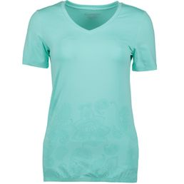 Energetics Gafina 5 wms Fitnessshirt kurzarm Damen turquoise