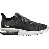 Nike Air Max Sequent 3 Freizeitschuhe Damen black/white grey – Bild 1