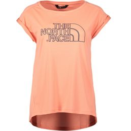 The North Face W Extent II Tech Tee Freizeit T-Shirt Damen desert flower orange