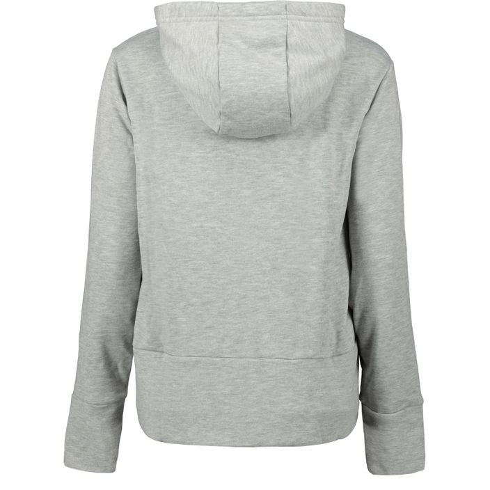 Nike W NK Dry Hoody Sweatjacke Trainingsjacke Damen dk grey heather/cool grey/rus