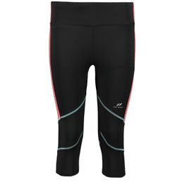 Pro Touch Gabry 3/4 Laufhose Damen black/ red light
