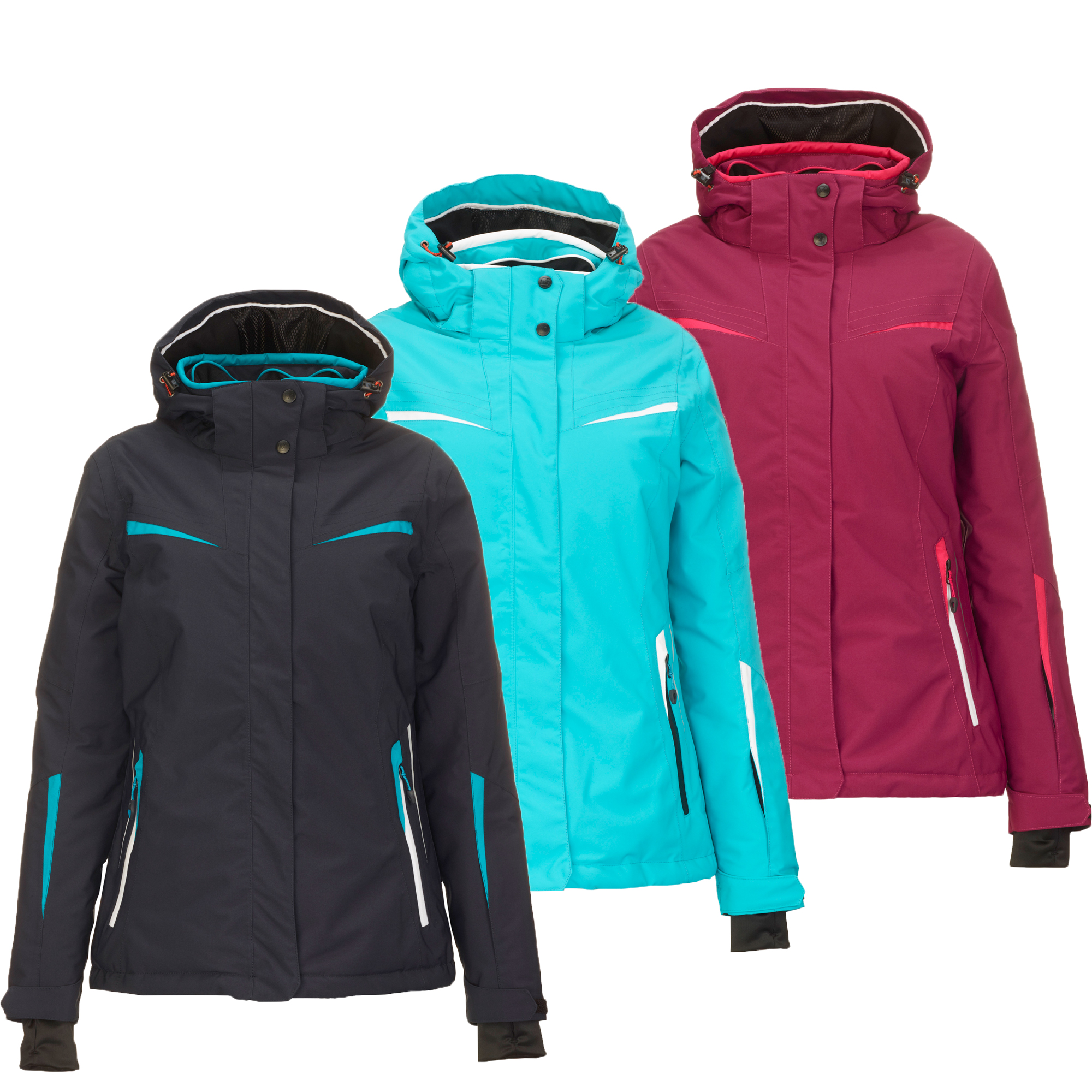 Details about Killtec Carol Ladies Ski Jacket Winter Jacket Functional Jacket show original title