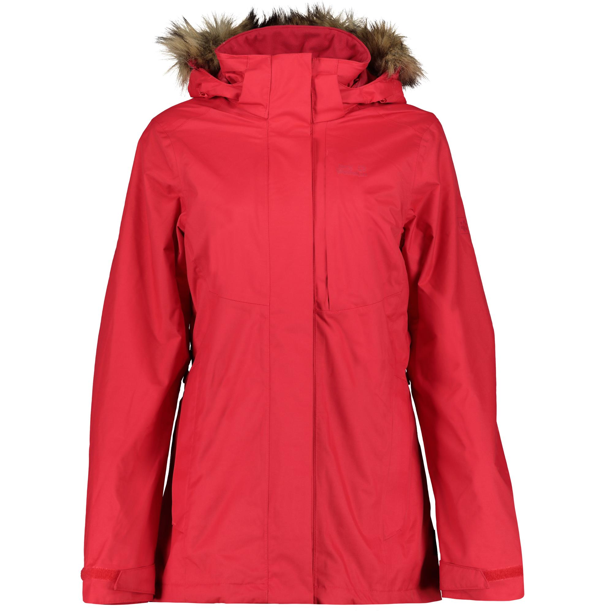 hot sale online 753c6 17210 Jack Wolfskin Damen Doppeljacke Arctic Ocean 3-in-1 true red Women Jacken &  Mäntel Doppeljacke