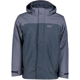 Jack Wolfskin Herren Doppeljacke Echo Lake night blue