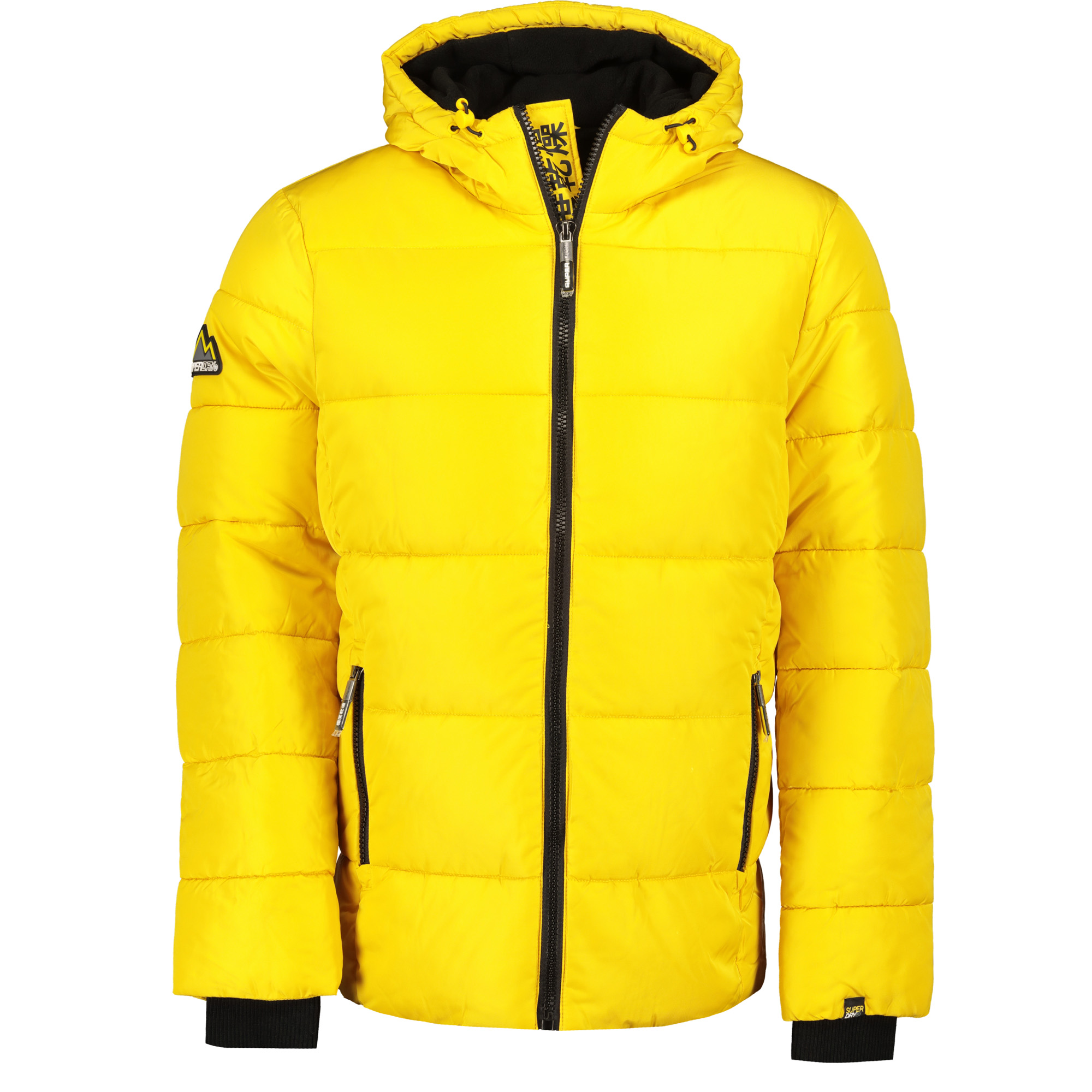 the latest 3af05 a42e4 Superdry Sports Puffer Herren Steppjacke Winterjacke sulphur Men Jacken &  Mäntel Winterjacke