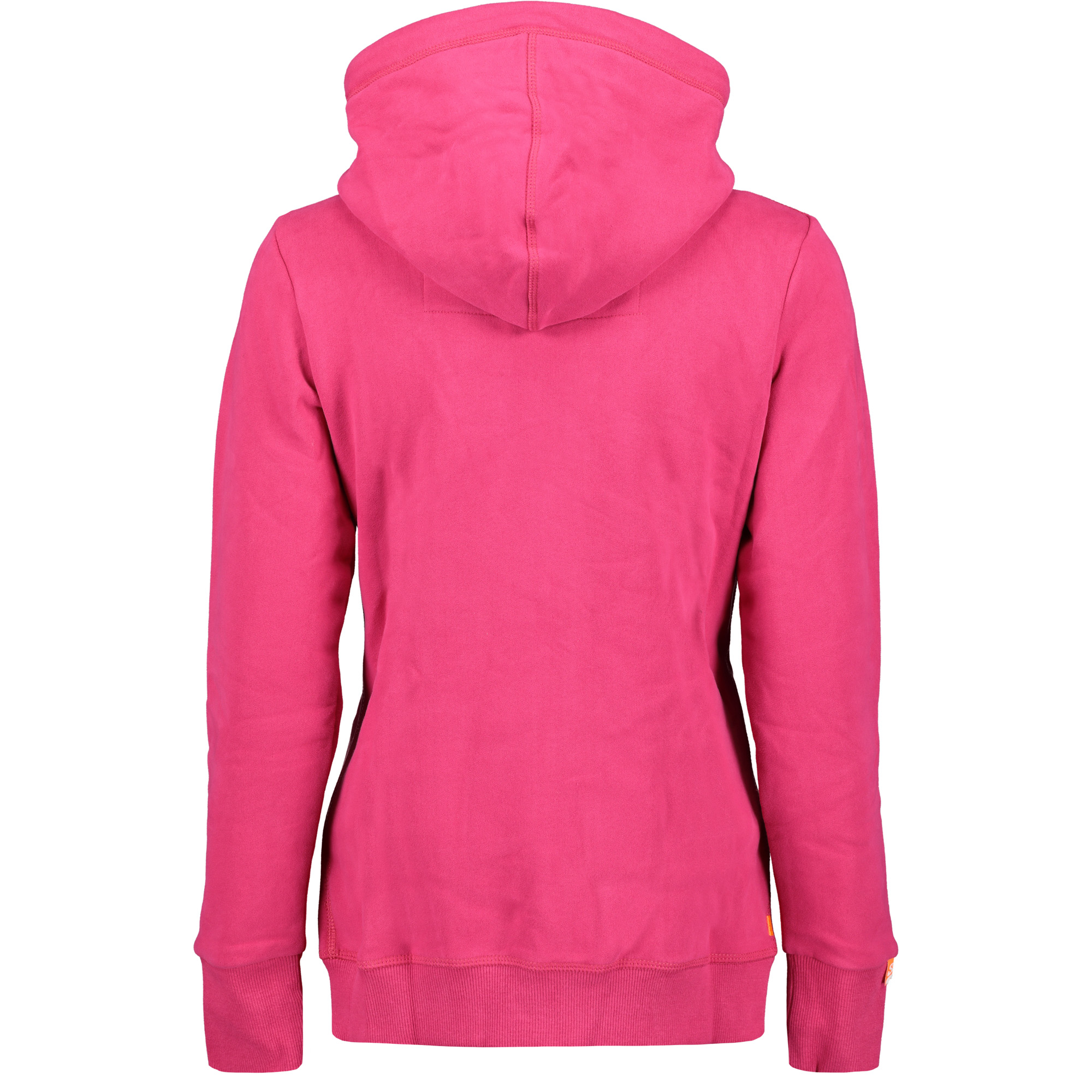 quality design 56490 ea03b Superdry Orange Label Classic Ziphood Damen Sweatjacke cabaret pink