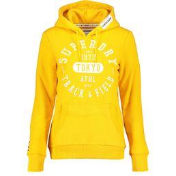 Superdry Track & Field Hood Damen Kapuzenhoodie rio yellow