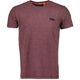Superdry OL Vintage Embroidery Tee Herren Freizeit T-Shirt creek red marl feeder