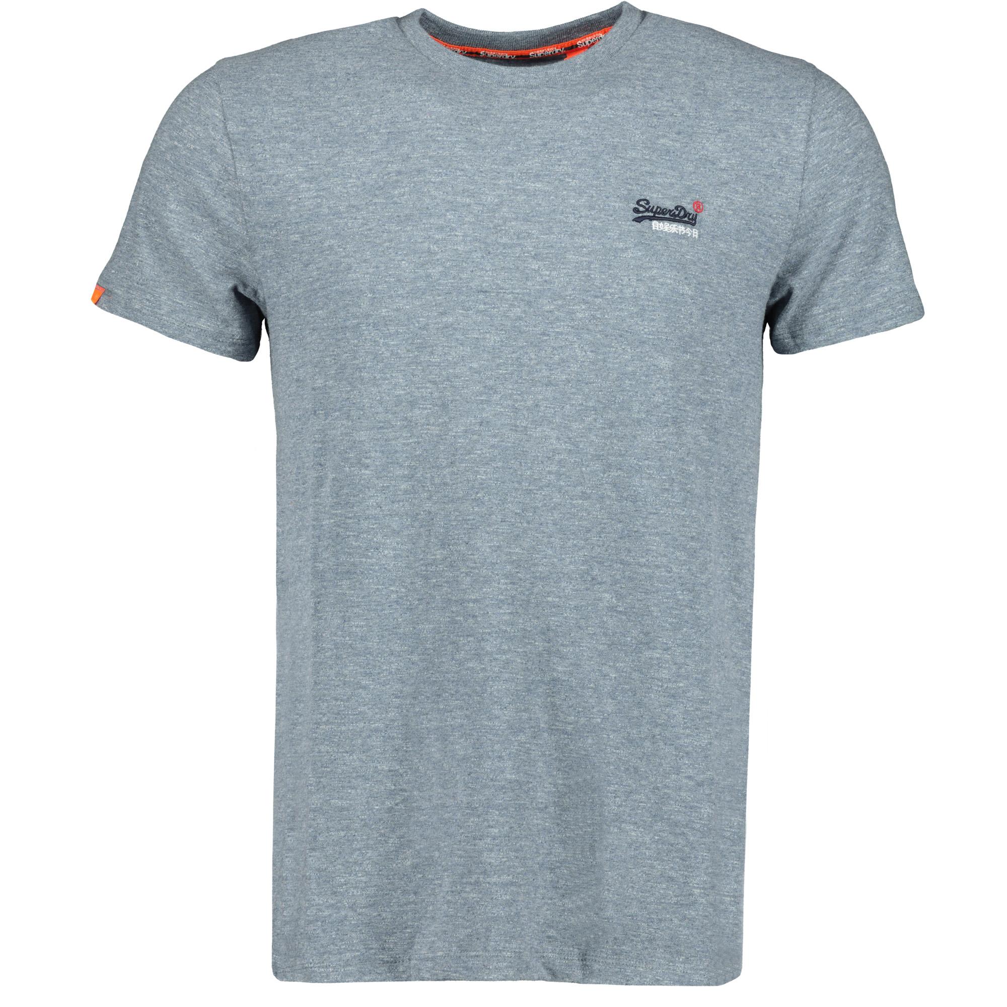 separation shoes ea7f3 50b17 Superdry OL Vintage Embroidery Tee Herren Freizeit T-Shirt creek blue grit  grindle Men Shirts T-Shirts
