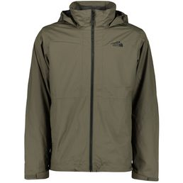 The North Face Arashi II Triclimate Doppeljacke Winterjacke 3 in1 Herren green