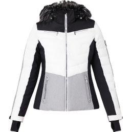 McKinley Deverly Damen Jacke Skijacke white