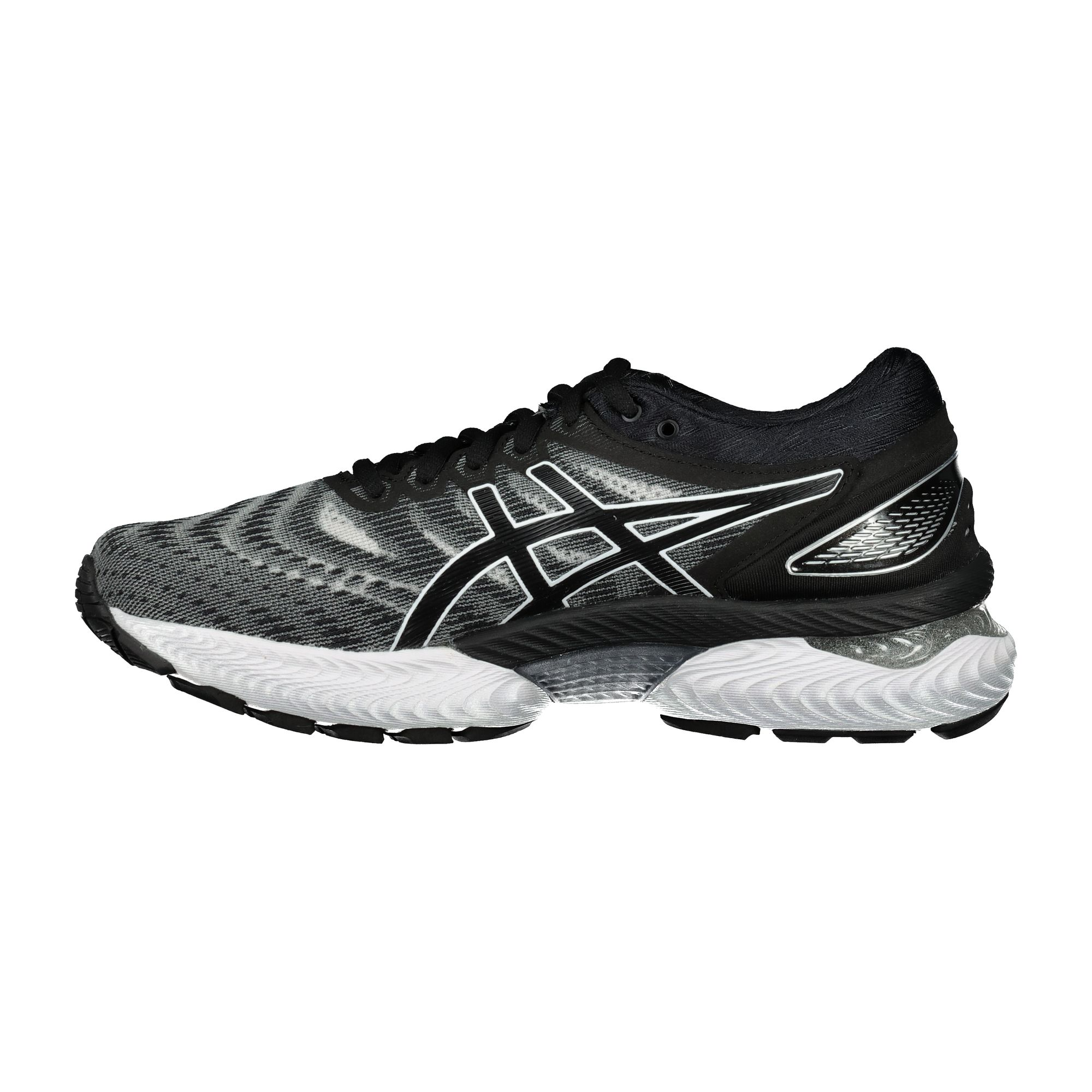 Details about Asics Gel-Nimbus 22 Womens Running Shoes White/Black- show  original title